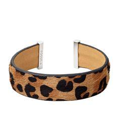 Fossil Cheetah Flex Cuff JA6070 | FOSSIL®