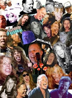 ♥ Metallica, Hardwired To Self Destruct, I Love Him, My Love, Dave Mustaine, James Hetfield, Thrash Metal, Day Of My Life, Dream Guy
