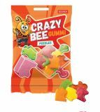 Желейные конфеты  Crazy Bee Gummi Puzzles 100 г Рошен   Желатинові цукерки Crazy Bee Gummi Puzzles100г  Рошен