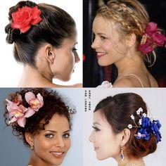 Nesse carnaval invista em flores no cabelo! http://www.feminices.blog.br/flor-cabelo/