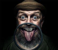 Photo inspiration: 30 creative and unconventional self portraits