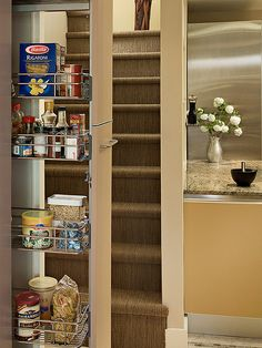 Pull Out Kitchen Pantry Design, Pictures, Remodel, Decor and Ideas
