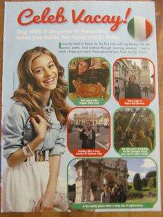 G. Hannelius, Dog With a Blog, Full page Pinup Clipping