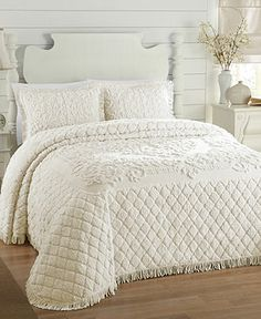 Josephine Chenille Bedspreads - Bedding Collections - Bed & Bath - Macy's