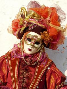 Venice carnival.    For more great pins go to @KaseyBelleFox