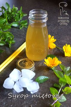 Natural Medicine, Mason Jars, Food And Drink, Herbs, Homemade, Drinks, Cooking, Tableware, Aromatherapy