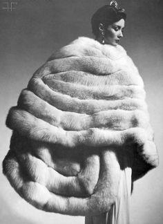 01c3c968968 From Beautiful LARGE Fur Stoles Board - Fox Fur Coat Retro