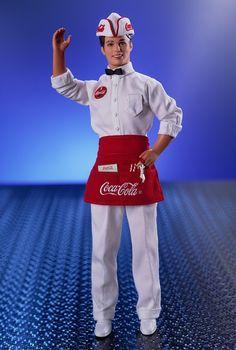 COCA-COLA® Ken® Doll   Barbie Collector