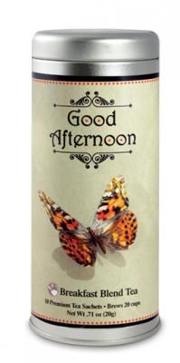 Butterfly Good Afternoon | The Tea Can Company