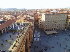 Plaza Signoria. Signoria Square.