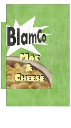 blamco mac and cheese printable - Google Search