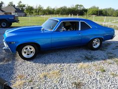 68 SS Nova ... Just give me the car and nobody gets hurt.