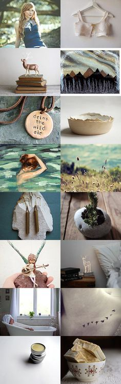 drink the wild air* by Anna Lisa on Etsy--Pinned with TreasuryPin.com