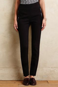 An+Incredibly+Chic+Way+to+Wear+Black+Pants+for+Fall+via+@WhoWhatWear