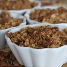 Gluten-Free Apple Cinnamon Oatmeal Crisp: http://www.shape.com/healthy-eating/healthy-recipes/best-recipes-our-favorite-healthy-food-blogs?page=18