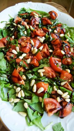 Spinach Tomato Salad from http://www.smarthealthystart.com/