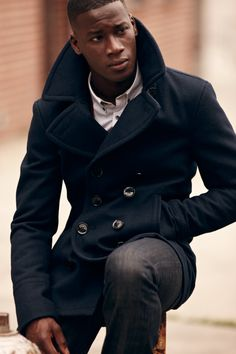 Sure Bets for Fall: A Well-Cut Peacoat