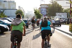 Critical Mass Bratislava by vera kisel, via Flickr Bratislava