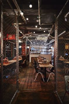 Vintage industrial vibes at Red's True Barbecue in Sheffield, England by interior designer Jordan Littler
