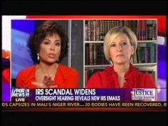 IRS Scandal Widens Oversight Hearing Reveals New IRS Emails  - Judge Jea...