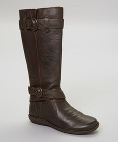 Look what I found on #zulily! Mahogany Leather Cayden Boot #zulilyfinds