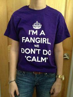 We don't do 'calm'