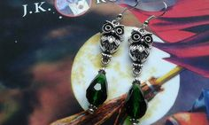 Owl Earrings di MagicBijoux su Etsy