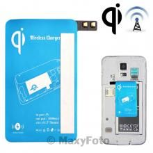 CARICA RICEVITORE WIRELESS CHARGING RECEIVER 1000m SAMSUNG GALAXY S5 G900 BLU BLUE NEW NUOVO - SU WWW.MAXYSHOPPOWER.COM