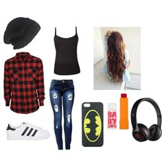 Tomboy outfit for school