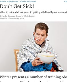 Runnersworld.com what to eat and drink to ward off illness this winter ...