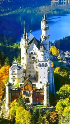 Neuschwanstein Castle, Schwangau, Germany -