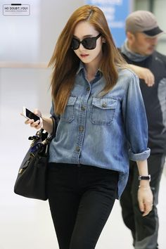 SNSD Jessica Airport Fashion 140519 2014