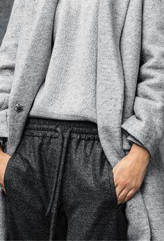grey on grey #style #fashion