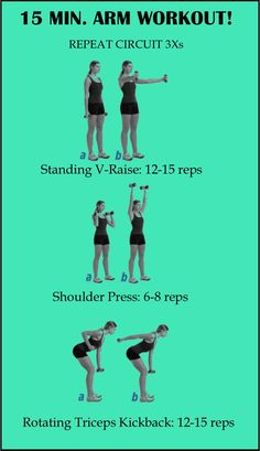 EASY 15 Min Arm Workout! Love it :)
