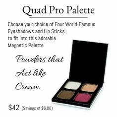 LimeLight by Alcone Quad Pro Palette is great to store your choice of colors. It's also magnetic for safe keeping! #QuadProPalette#magnetic #LimeLightbyalconemakeup #biodegradable www.nikkircampbell.com