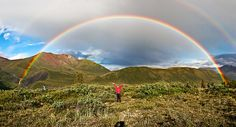 The Double Alaskan Rainbow by Eric Rolph, via Flickr