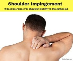 Top 9 Shoulder impingement exercises to improve the mobility & Strengthening of the shoulder joint. It also helps to relieve pain & muscle spasm. Shoulder Impingement Surgery, Shoulder Surgery, Shoulder Injuries, Shoulder Muscles, Frozen Shoulder Exercises, Best Shoulder Workout, Shoulder Rehab, Shoulder Problem, Shoulder Exercises Physical Therapy