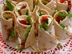 Chorizo, Taco Wraps, Barbie Party, Roll Ups, Hors D'oeuvres, Coffee Break, Pinwheels, Tapas, Catering