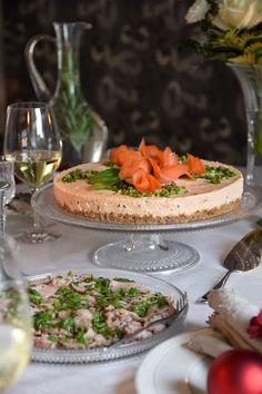 Lohimoussekakku / Salmon cake