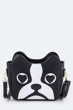 Boston Terrier Love Bag