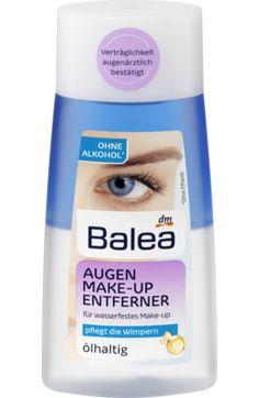 Balea Augen Make-up Entferner ölhaltig dauerhaft günstig online kaufen | dm.de