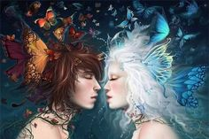 Las Almas Gemelas de la madre vida - Mi Carta Astral