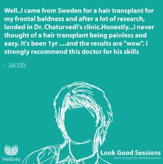 Jacob Hair Transplant, Clinic, Thoughts, Ideas