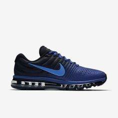 low priced 52cf2 4bcaf Original Nike Air Max 2017 Deep Royal Blue Sports Running Shoes Royal Blue  Sneakers, Sports