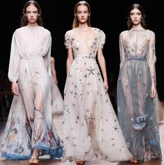 Valentino Spring/Summer 2015 Collection - Paris Fashion Week | Fashion Trends, Makeup Tutorials, Hairstyles and Style Secrets