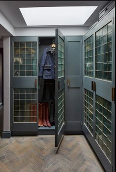 Love this amazing closet by Sigmar The doors and design are fantastic.
