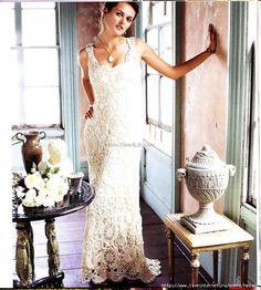 Uncinetto d'oro: Meraviglioso abito da matrimonio!!!