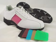 4cb61d50562 A-Game Lady Chameleon Golf Shoes 8.5     Click image to review more