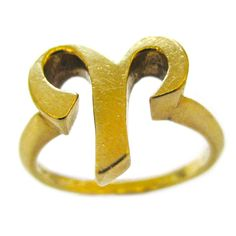 CARTIER, A Gold Zodiac Ring, c 1970   1stdibs.com