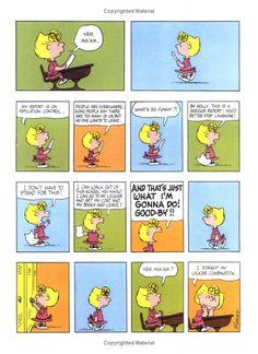 Sally's report - Peanuts Treasury